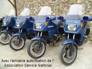 K75 RT dotant la Gendarmerie